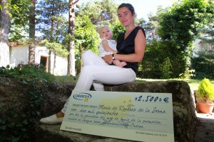 Maria de Reparaz - ganadora junio cheque ordesa 3
